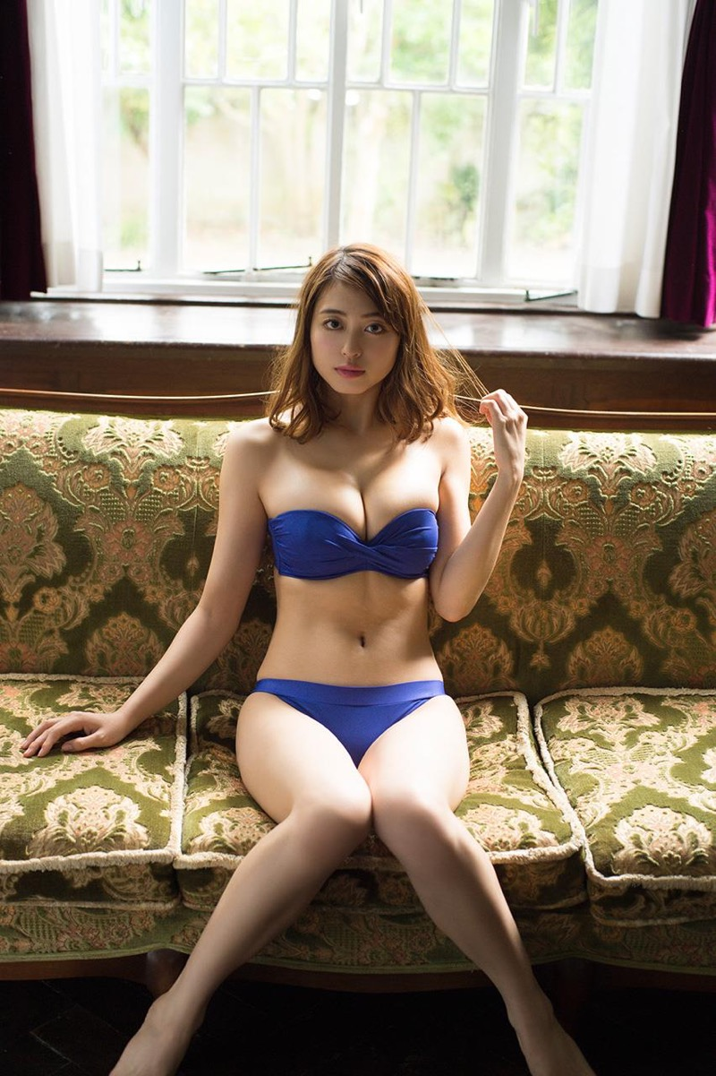 【大川藍グラビア画像】こんなに可愛くてエッチな身体の元アイドルが引退なんて勿体無いですねぇ 20