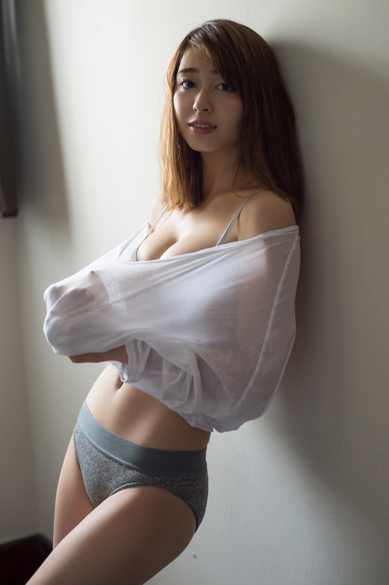【大川藍グラビア画像】こんなに可愛くてエッチな身体の元アイドルが引退なんて勿体無いですねぇ 21