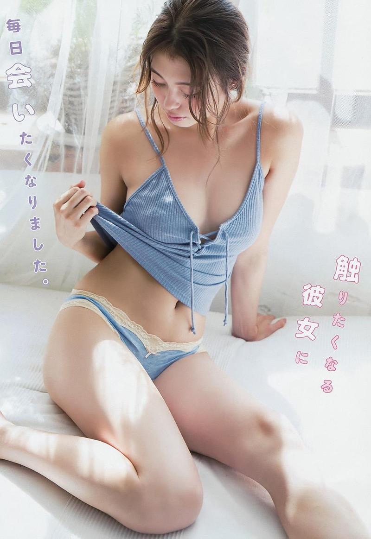【大川藍グラビア画像】こんなに可愛くてエッチな身体の元アイドルが引退なんて勿体無いですねぇ 28