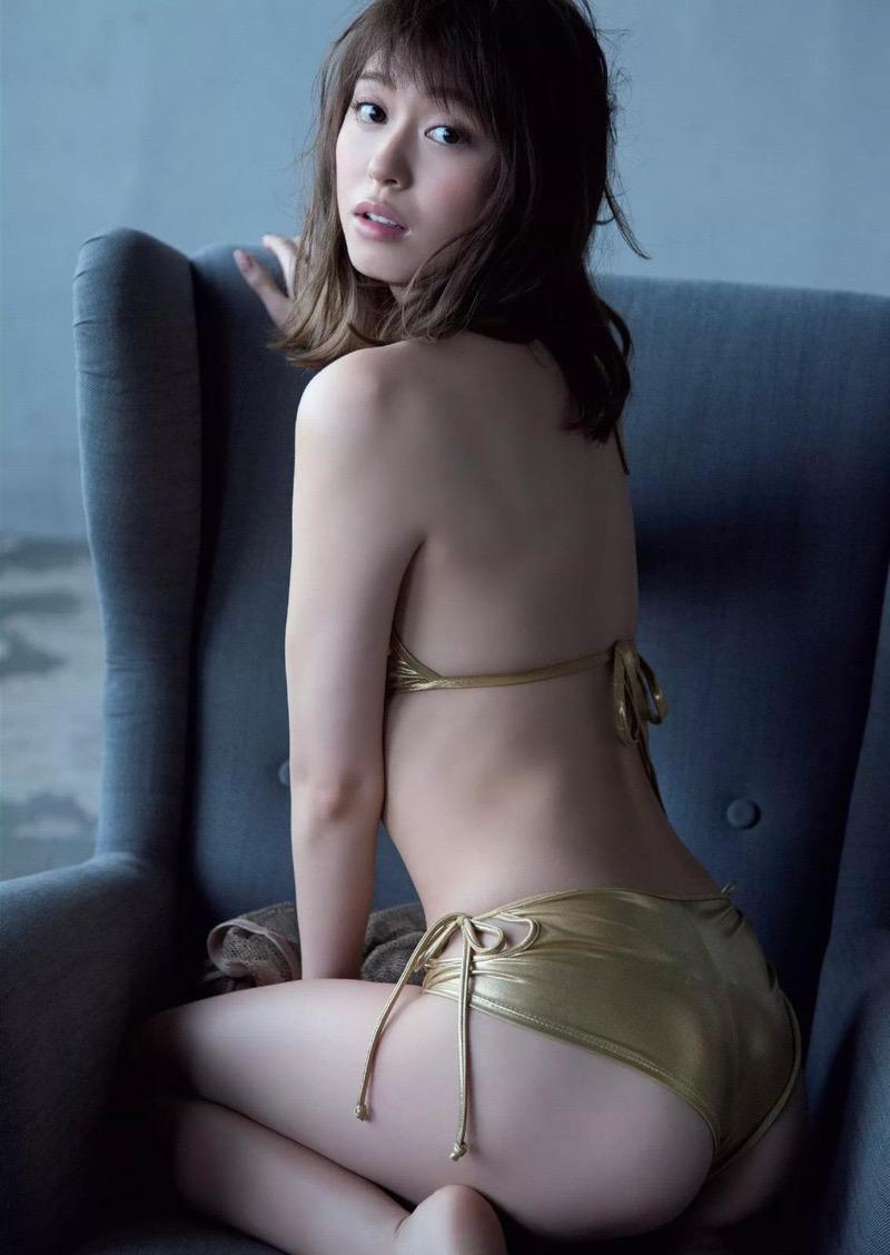 【大川藍グラビア画像】こんなに可愛くてエッチな身体の元アイドルが引退なんて勿体無いですねぇ 72