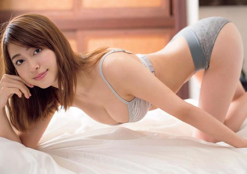 【大川藍グラビア画像】こんなに可愛くてエッチな身体の元アイドルが引退なんて勿体無いですねぇ 76