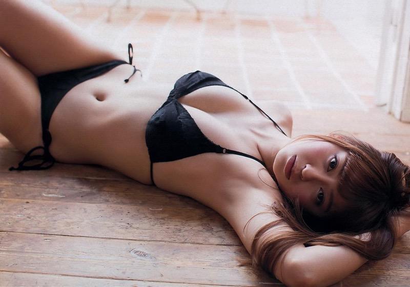 【大川藍グラビア画像】こんなに可愛くてエッチな身体の元アイドルが引退なんて勿体無いですねぇ 77