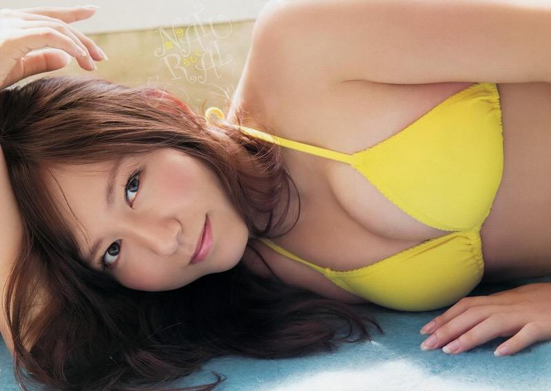 【大場美奈グラビア画像】清潔感あるランジェリー姿が可愛いSKE48アイドルのエロ画像で抜く!