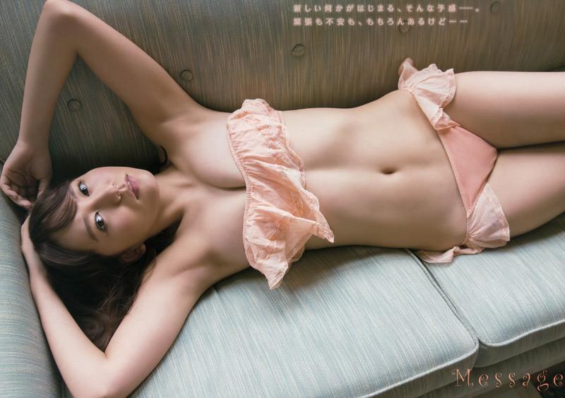 【大場美奈グラビア画像】清潔感あるランジェリー姿が可愛いSKE48アイドルのエロ画像で抜く! 11