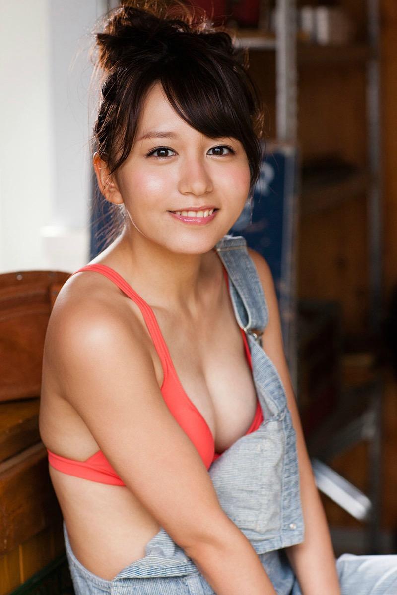 【大場美奈グラビア画像】清潔感あるランジェリー姿が可愛いSKE48アイドルのエロ画像で抜く! 35