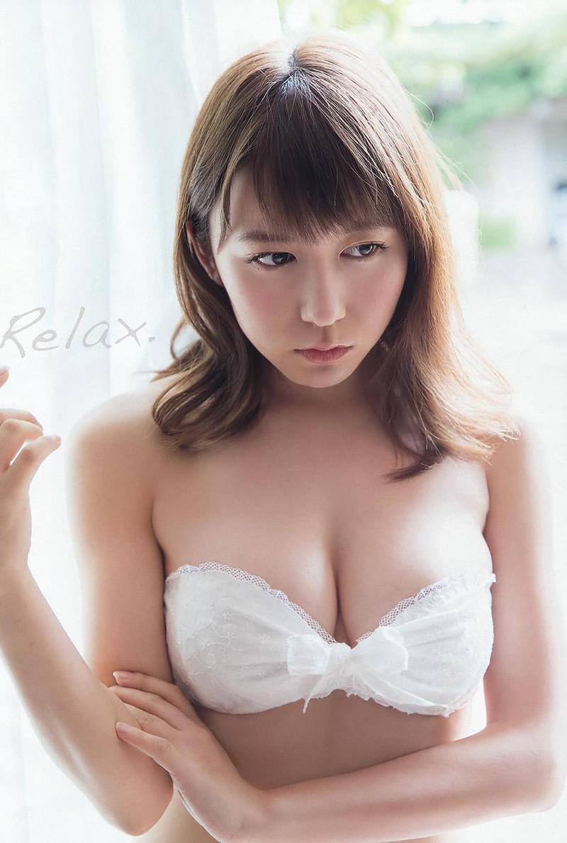 【大場美奈グラビア画像】清潔感あるランジェリー姿が可愛いSKE48アイドルのエロ画像で抜く! 40