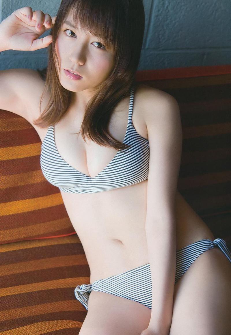 【大場美奈グラビア画像】清潔感あるランジェリー姿が可愛いSKE48アイドルのエロ画像で抜く! 49