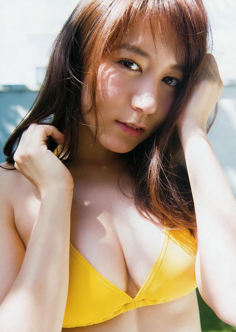 【大場美奈グラビア画像】清潔感あるランジェリー姿が可愛いSKE48アイドルのエロ画像で抜く! 68