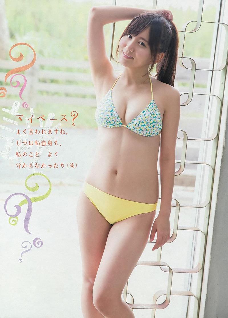 【大場美奈グラビア画像】清潔感あるランジェリー姿が可愛いSKE48アイドルのエロ画像で抜く! 71