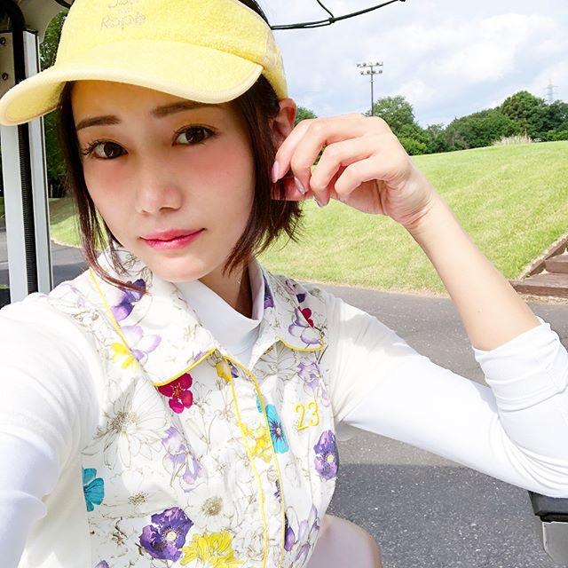 【白石あさえエロ画像】Gカップ巨乳を揺らしてゴルフしてそうなお姉さんと一緒にラウンドしたい! 20