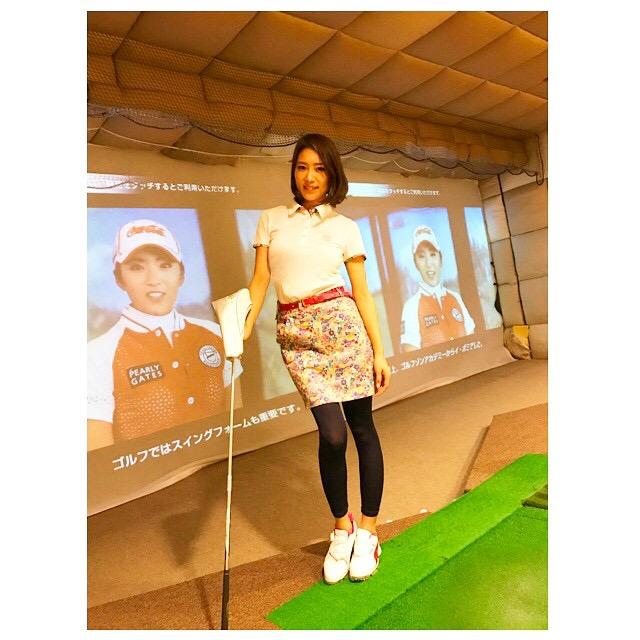 【白石あさえエロ画像】Gカップ巨乳を揺らしてゴルフしてそうなお姉さんと一緒にラウンドしたい! 39