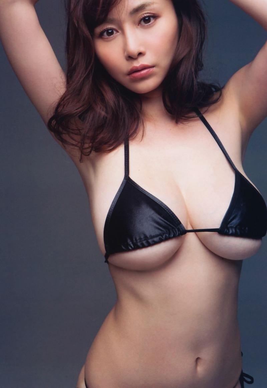 【杉原杏璃グラビア画像】美熟女グラドルが気になる部分の改善にこんにゃくを使っているとかw 53