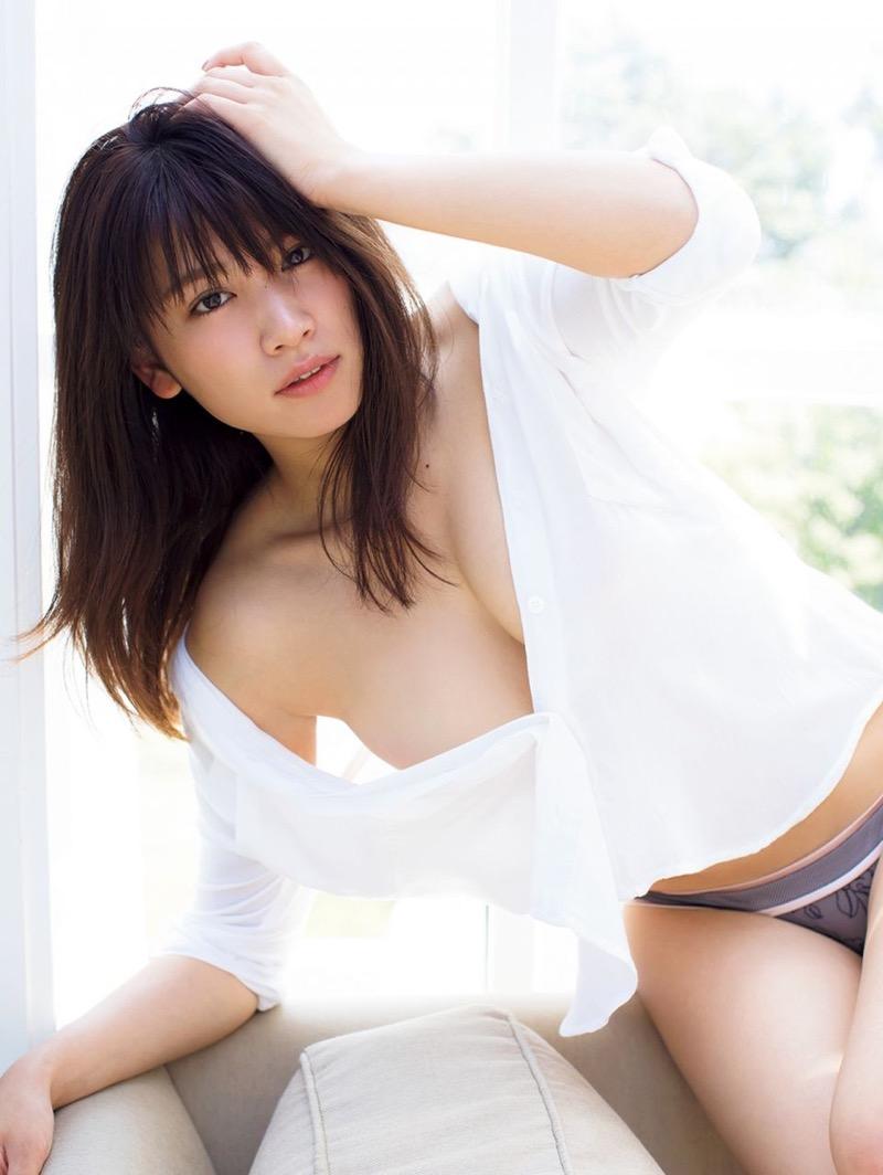 【久松郁実グラビア画像】ファッションモデルしてるだけじゃ勿体無い激エロFカップ巨乳美女! 41