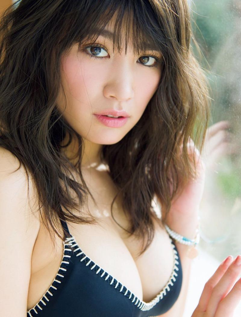 【久松郁実グラビア画像】ファッションモデルしてるだけじゃ勿体無い激エロFカップ巨乳美女! 45