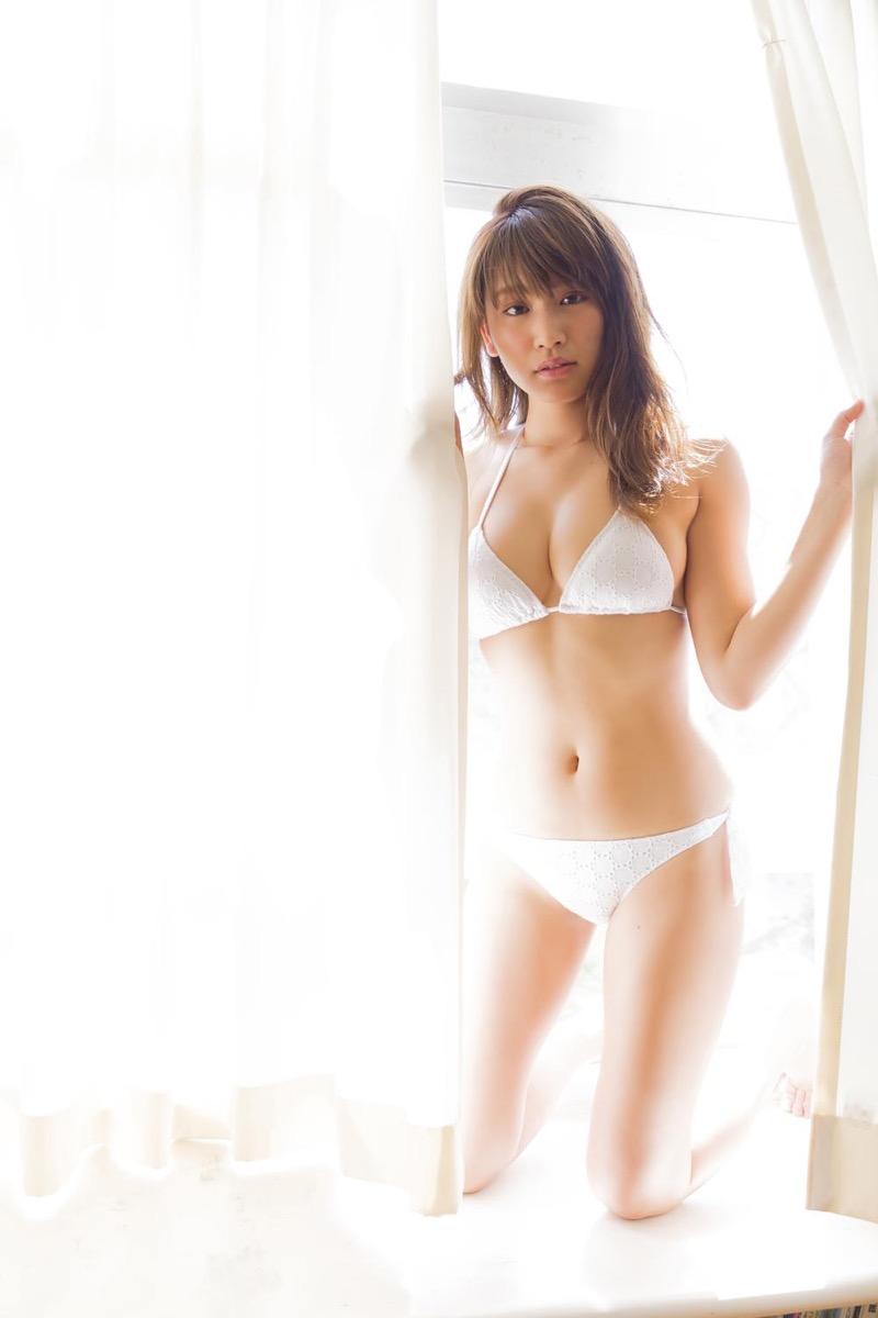 【久松郁実グラビア画像】ファッションモデルしてるだけじゃ勿体無い激エロFカップ巨乳美女! 57