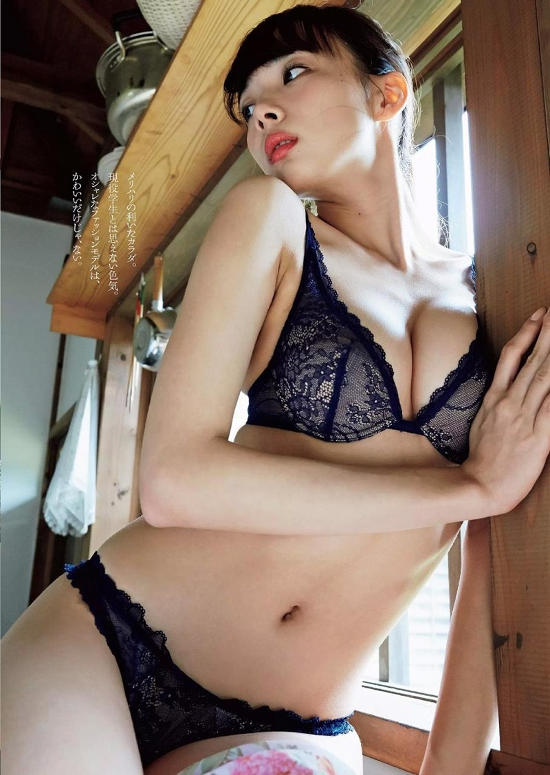 【岡田紗佳グラビア画像】日中ハーフで女流プロ雀士グラドルが役満ボディって呼ばれるとかwww 50