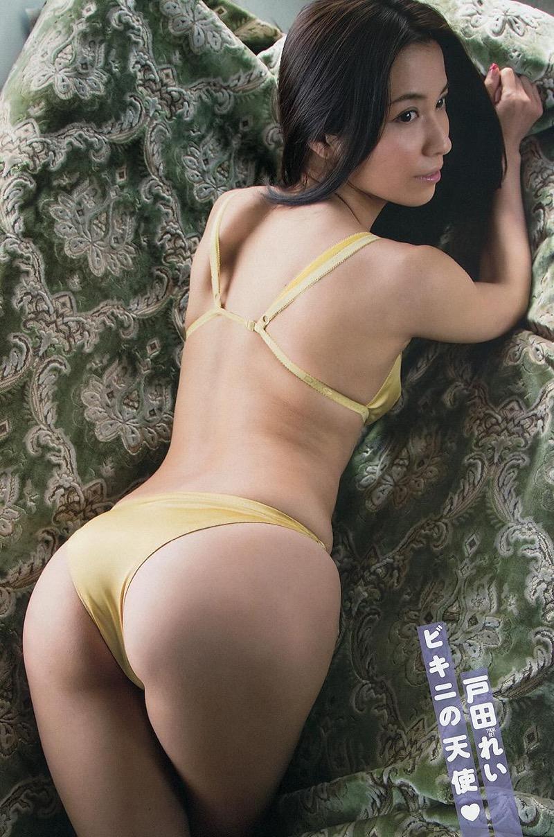 【戸田れいグラビア画像】三十路を越えても現役グラドルであり続けるエッチな美尻お姉さん! 50
