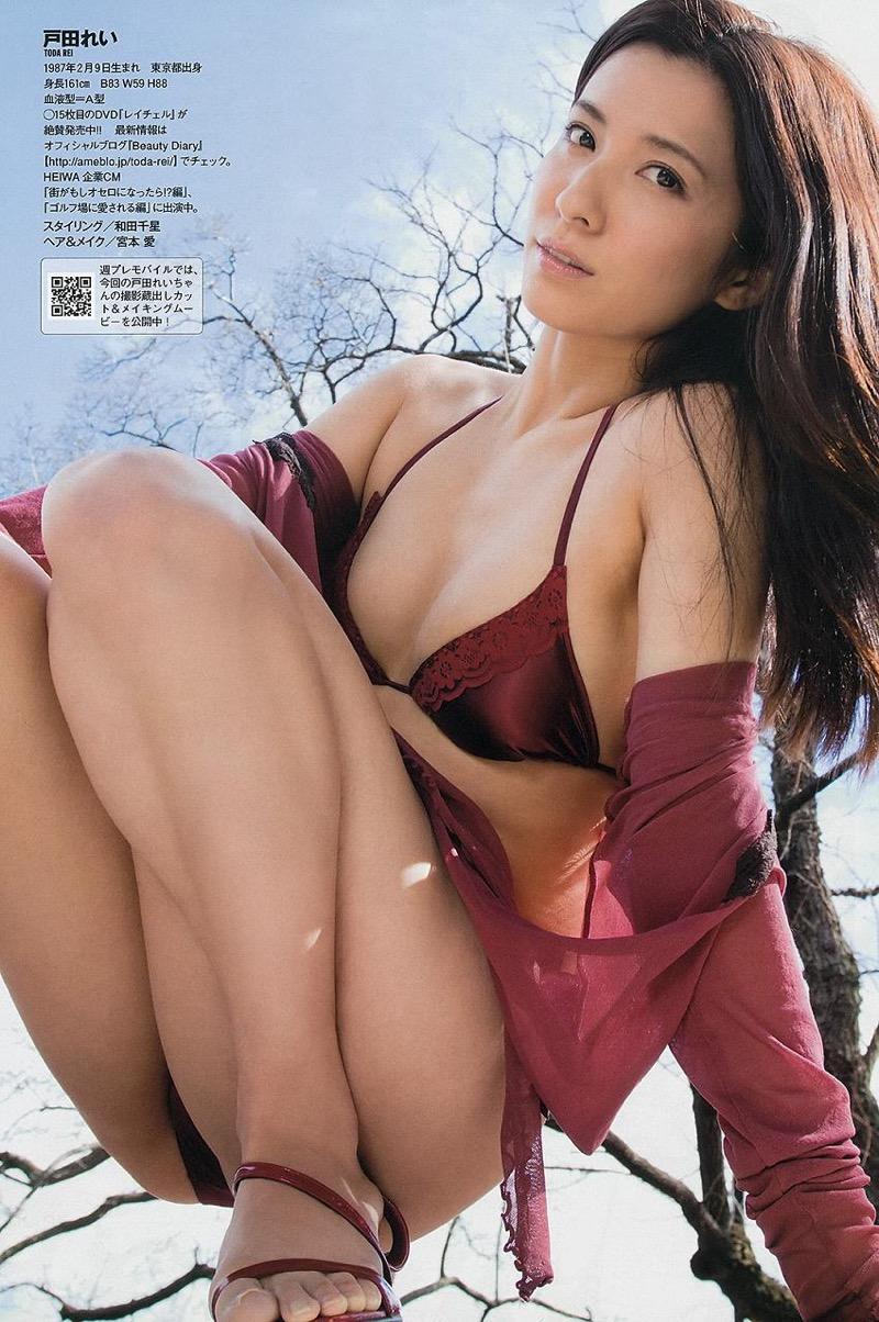 【戸田れいグラビア画像】三十路を越えても現役グラドルであり続けるエッチな美尻お姉さん! 54