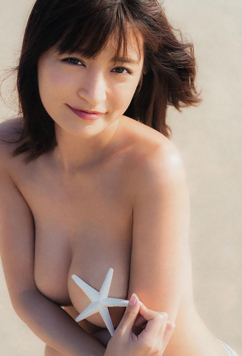 【☆HOSHINOグラビア画像】可愛い顔して激エロなGカップ巨乳ボディがめちゃシコなんだがwww 52