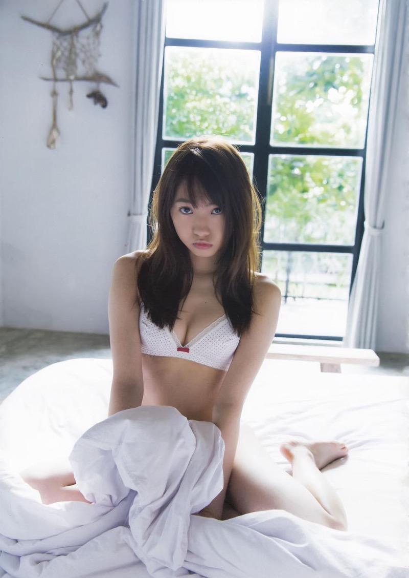 【木崎ゆりあグラビア画像】ゆるふわ系の髪型がめっちゃ可愛い元アイドルのエッチな水着姿 39