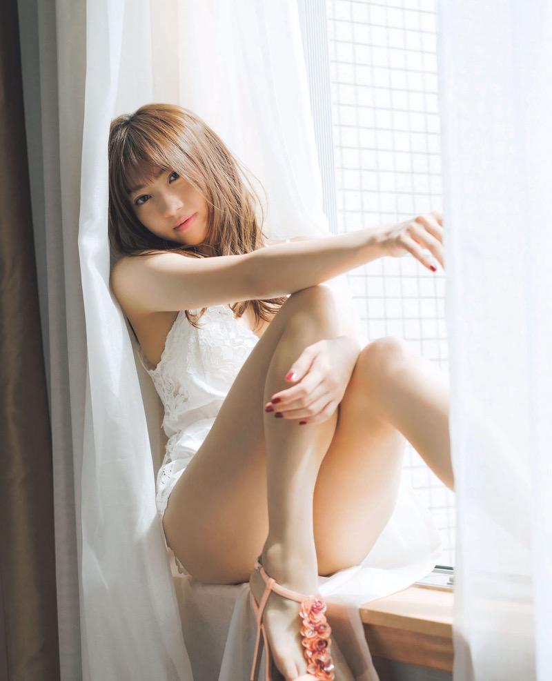 【木崎ゆりあグラビア画像】ゆるふわ系の髪型がめっちゃ可愛い元アイドルのエッチな水着姿 71