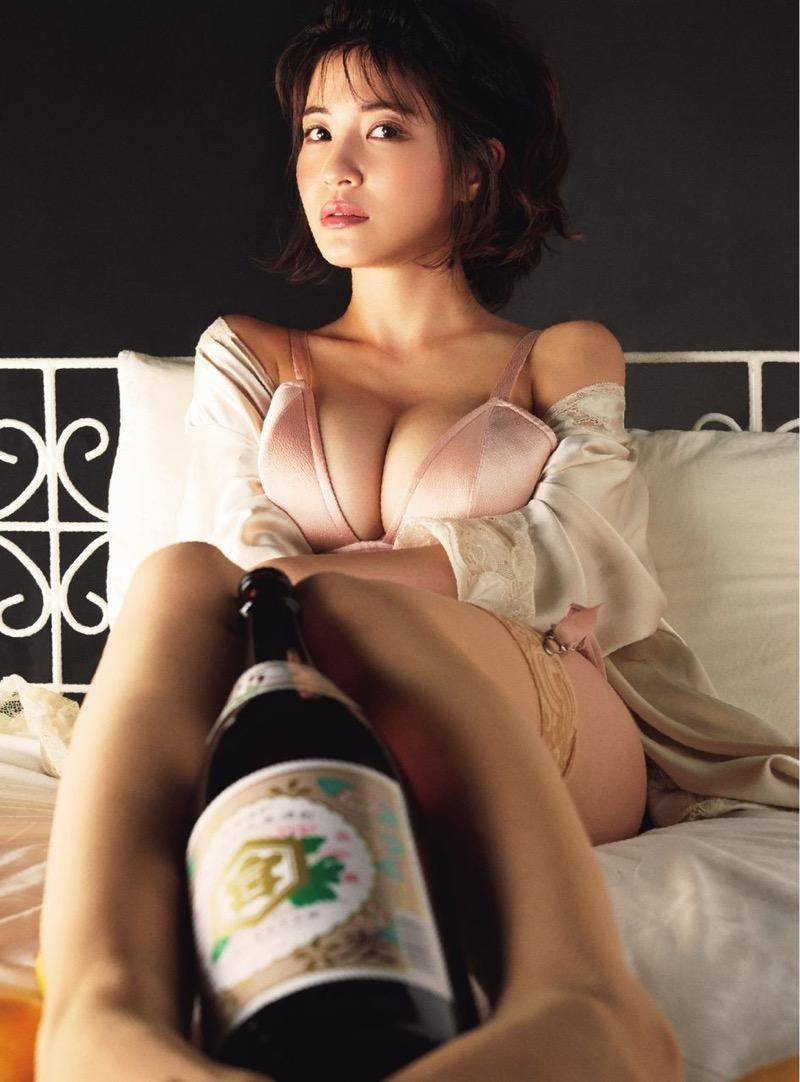 【岸明日香エロ画像】こんな綺麗でエロいGカップオッパイでパイズリしたら即射精不可避wwww 36