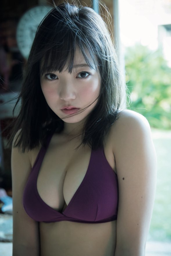 【京佳エロ画像】可愛い顔して脱ぐと飛び出す激エロFカップおっぱいがめちゃシコな美少女! 16