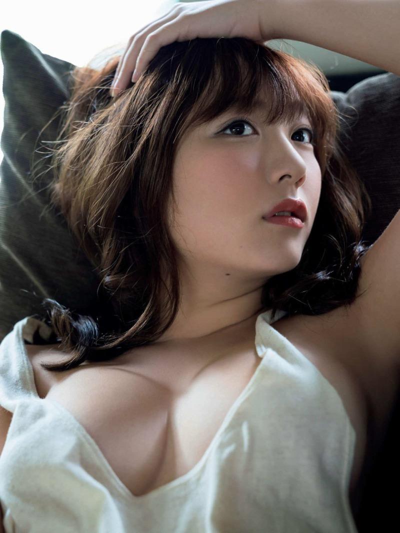 【京佳エロ画像】可愛い顔して脱ぐと飛び出す激エロFカップおっぱいがめちゃシコな美少女! 60