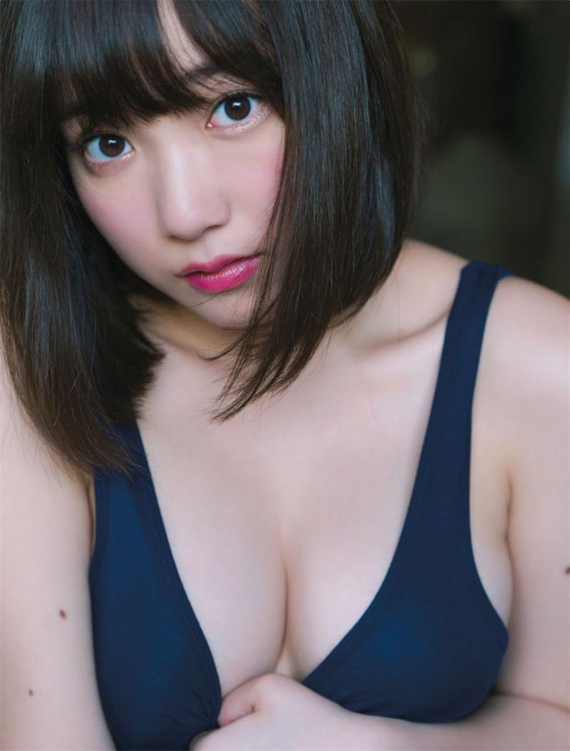 【京佳エロ画像】可愛い顔して脱ぐと飛び出す激エロFカップおっぱいがめちゃシコな美少女! 64