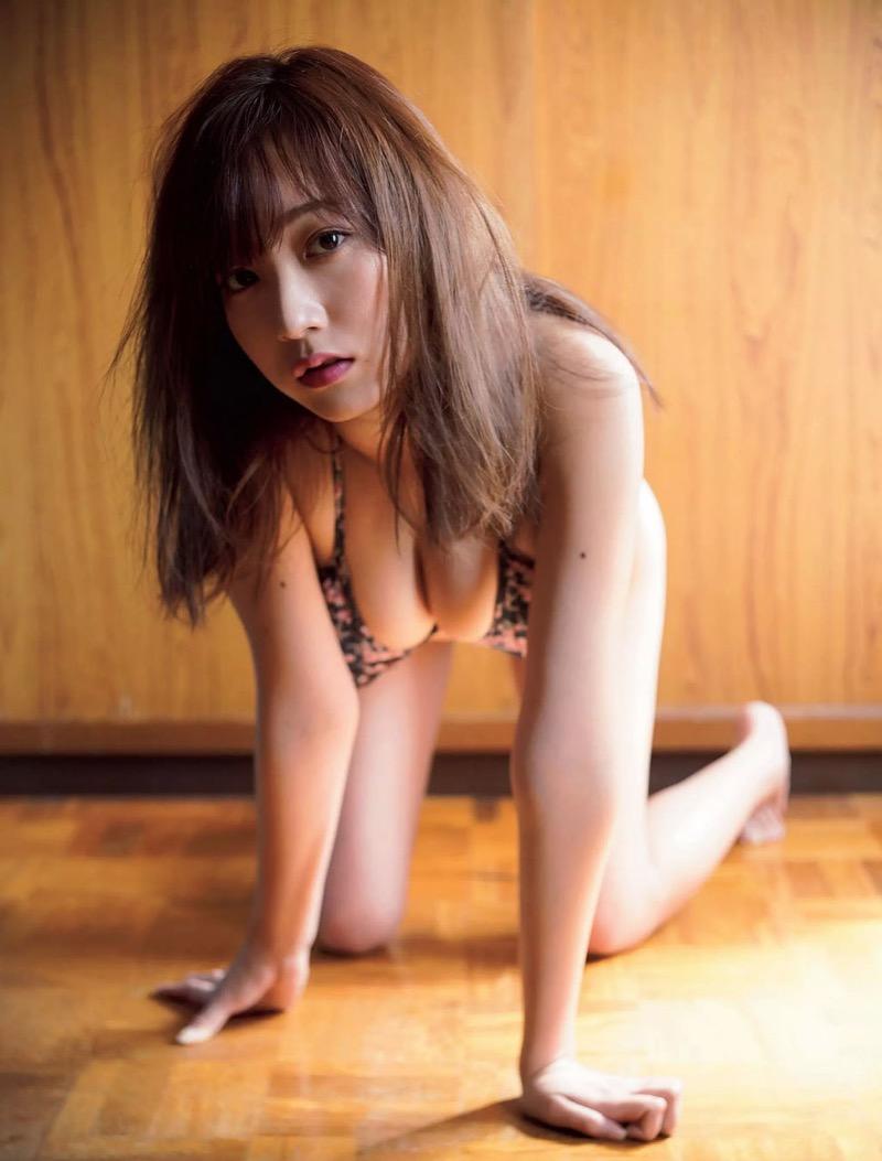 【京佳エロ画像】可愛い顔して脱ぐと飛び出す激エロFカップおっぱいがめちゃシコな美少女! 65
