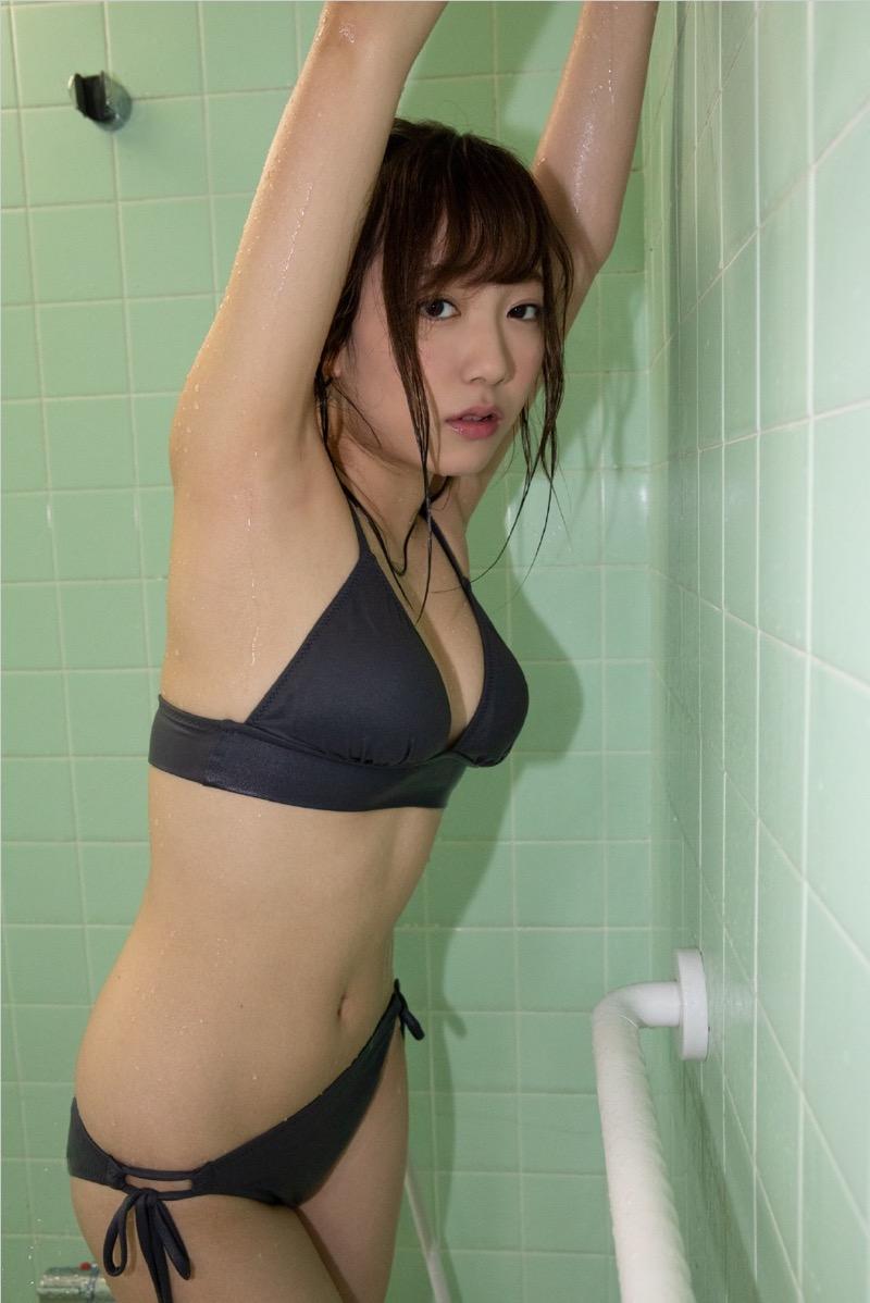 【京佳エロ画像】可愛い顔して脱ぐと飛び出す激エロFカップおっぱいがめちゃシコな美少女! 70