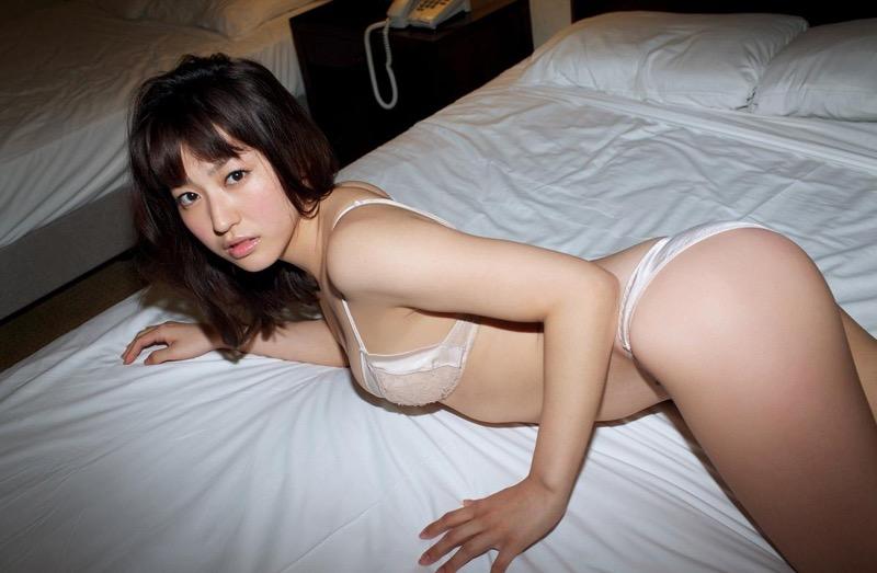 【黒田有彩グラビア画像】リケジョで売り込む必要がないくらいエロいFカップ巨乳タレント 74