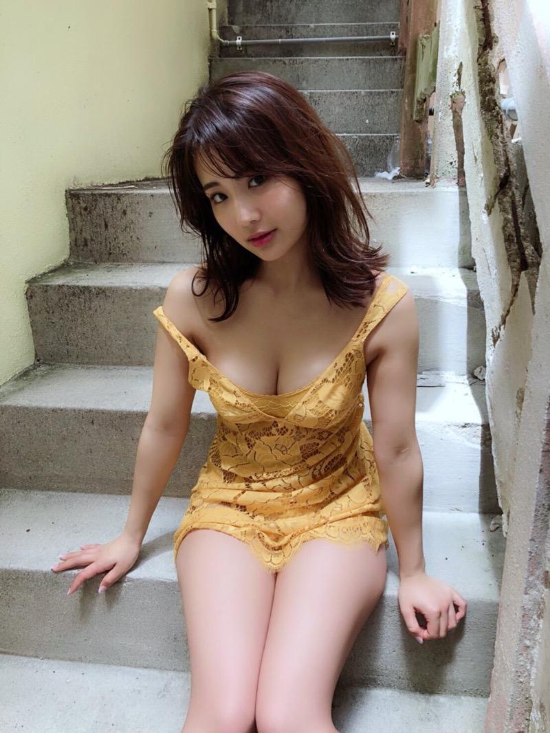 【平嶋夏海エロ画像】Fカップ巨乳のめちゃシコボディでAKB卒業後も人気を誇るグラビアアイドル 68