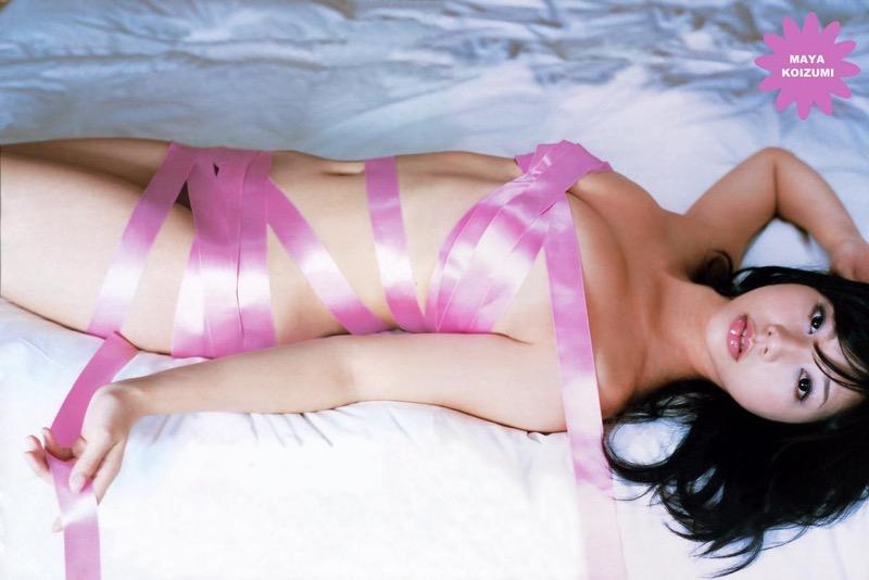 【小泉麻耶エロ画像】ちょっとケバいけどギャル系好きならオカズになりそうなグラビアアイドル 75
