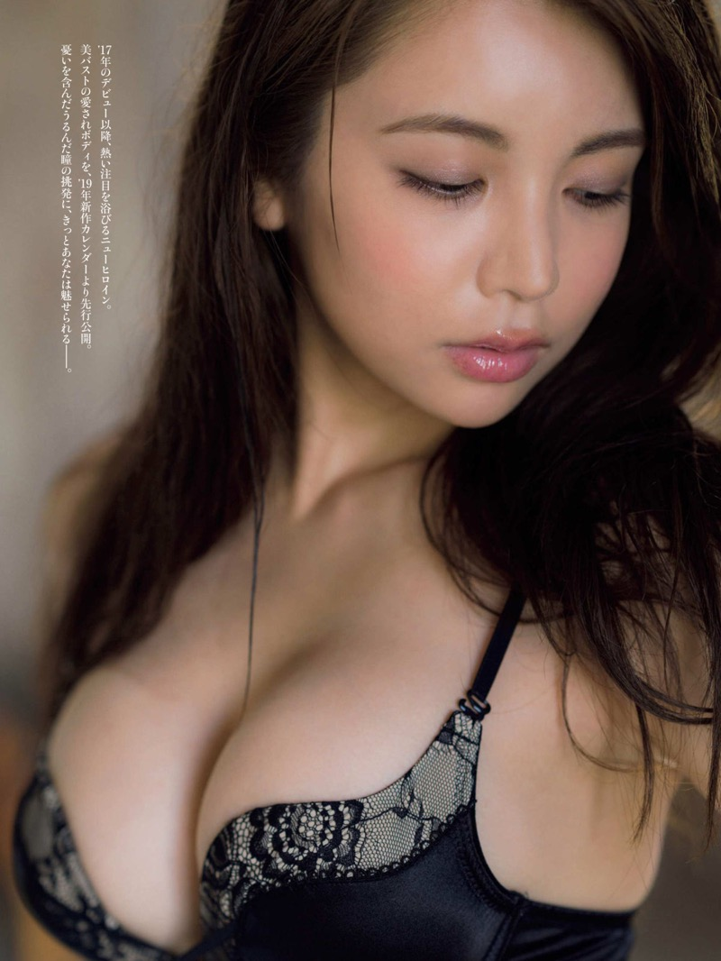 【仲村美海エロ画像】逸材すぎる遅咲きグラビアアイドルのセクシーな谷間全開Ecupボディ! 44