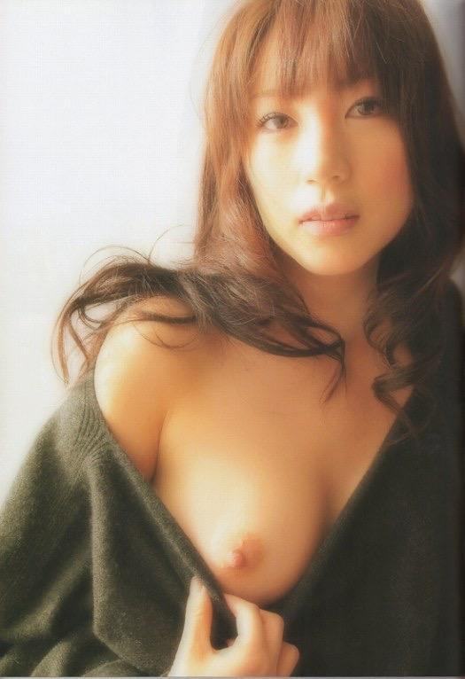 【庄司ゆうこエロ画像】AV寸前なアダルトイメージビデオで陰毛まで曝け出すFカップ巨乳グラドル 20