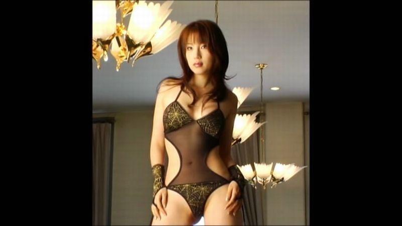 【庄司ゆうこエロ画像】AV寸前なアダルトイメージビデオで陰毛まで曝け出すFカップ巨乳グラドル 46