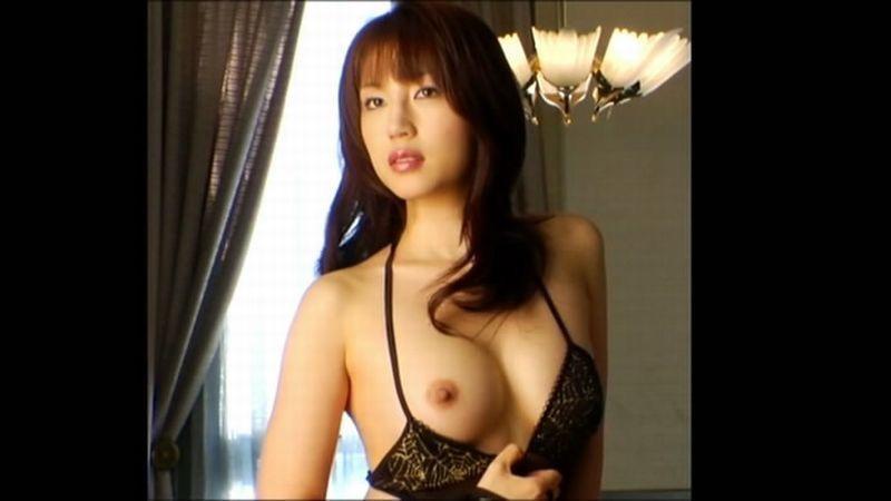 【庄司ゆうこエロ画像】AV寸前なアダルトイメージビデオで陰毛まで曝け出すFカップ巨乳グラドル 52