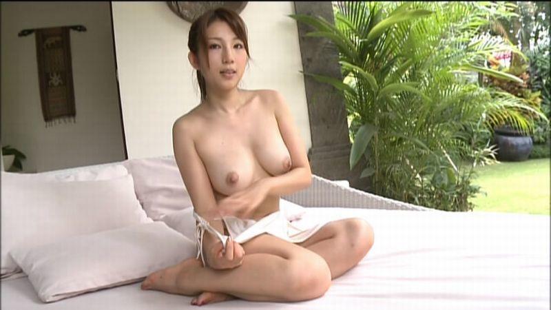 【庄司ゆうこエロ画像】AV寸前なアダルトイメージビデオで陰毛まで曝け出すFカップ巨乳グラドル 58