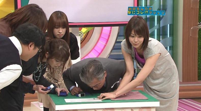 【放送事故エロ画像】テレビ放送中にタレントや女子アナが乳首が見えそうになってるんだがwwww 21