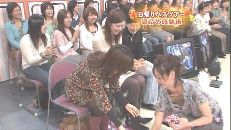 【放送事故エロ画像】テレビ放送中にタレントや女子アナが乳首が見えそうになってるんだがwwww 31