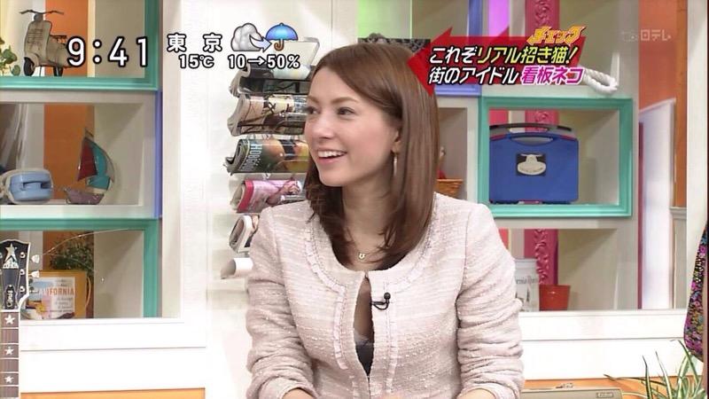 【放送事故エロ画像】テレビ放送中にタレントや女子アナが乳首が見えそうになってるんだがwwww 50