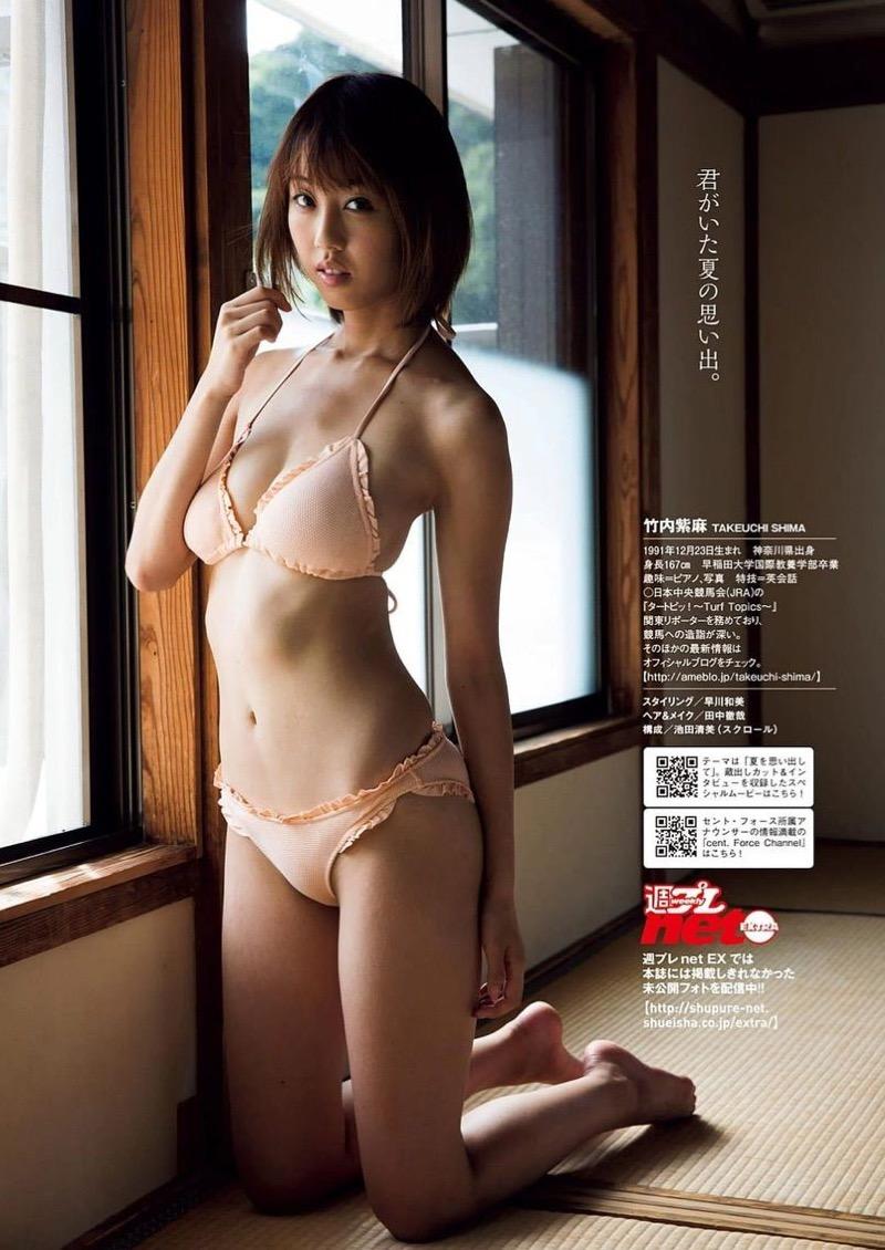 【女子アナ水着画像】本業以外で注目されてしまう美人女子アナの水着姿がグラドルレベルwwww 30