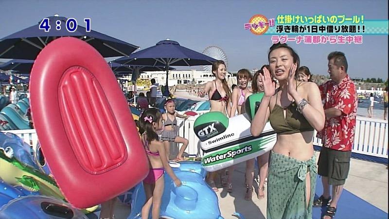 【女子アナ水着画像】本業以外で注目されてしまう美人女子アナの水着姿がグラドルレベルwwww 60