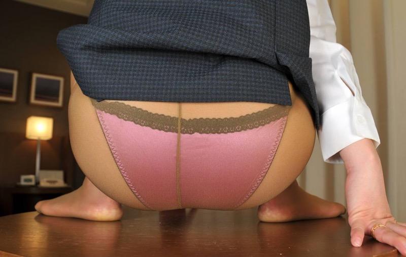 【パンストエロ画像】美脚や美尻にピッタリフィットしているパンティストッキングのフェチ画像 77