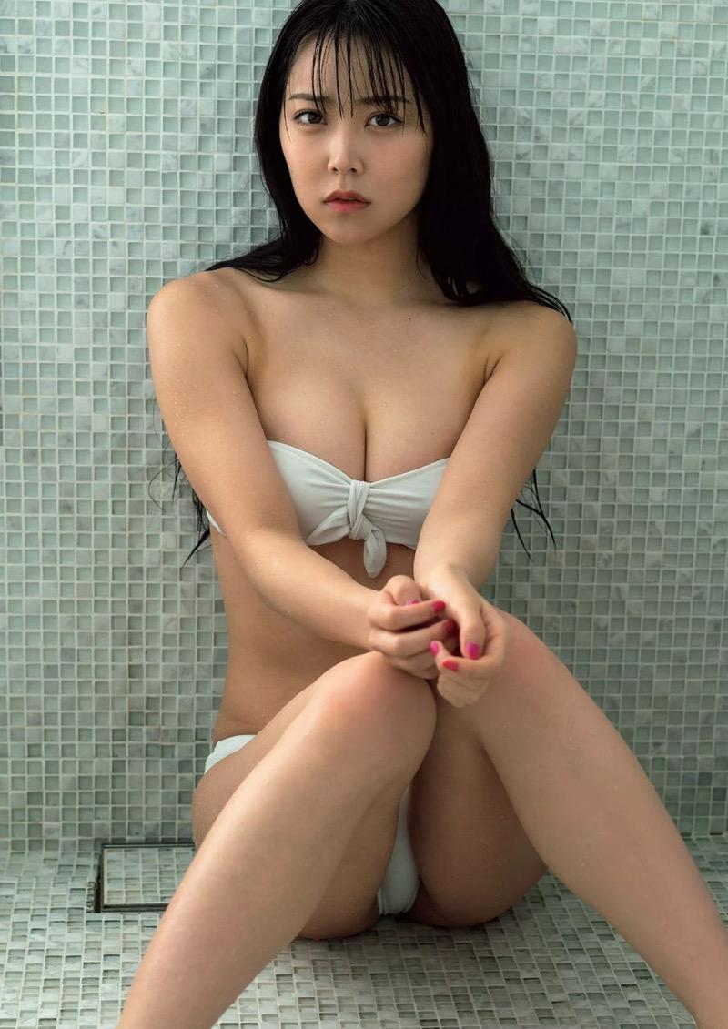【白間美瑠グラビア画像】グラドルにも負けない綺麗でエッチな美乳ボディのNMB48アイドル! 43