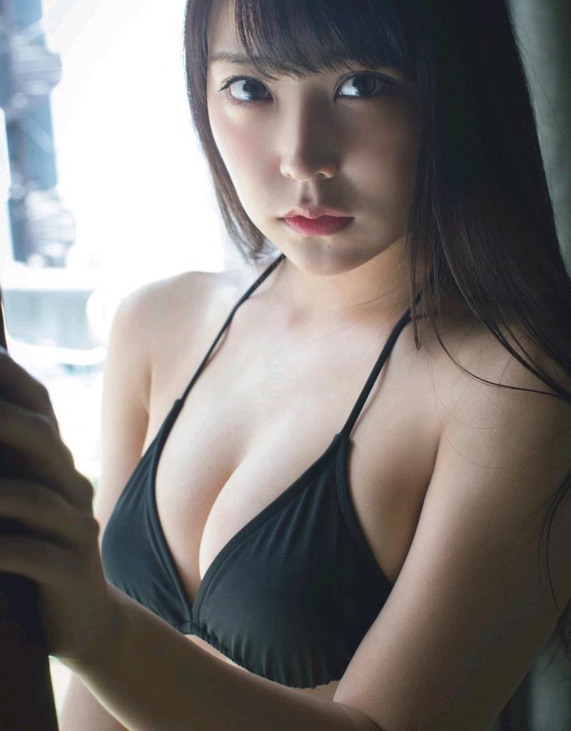 【白間美瑠グラビア画像】グラドルにも負けない綺麗でエッチな美乳ボディのNMB48アイドル! 70