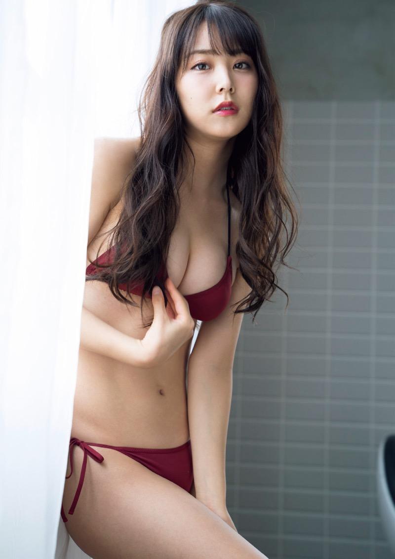 【白間美瑠グラビア画像】グラドルにも負けない綺麗でエッチな美乳ボディのNMB48アイドル! 71