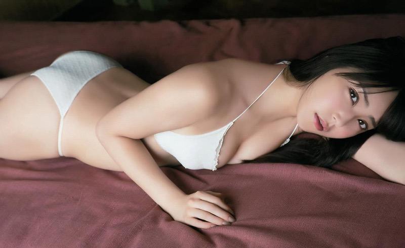 【白間美瑠グラビア画像】グラドルにも負けない綺麗でエッチな美乳ボディのNMB48アイドル! 76