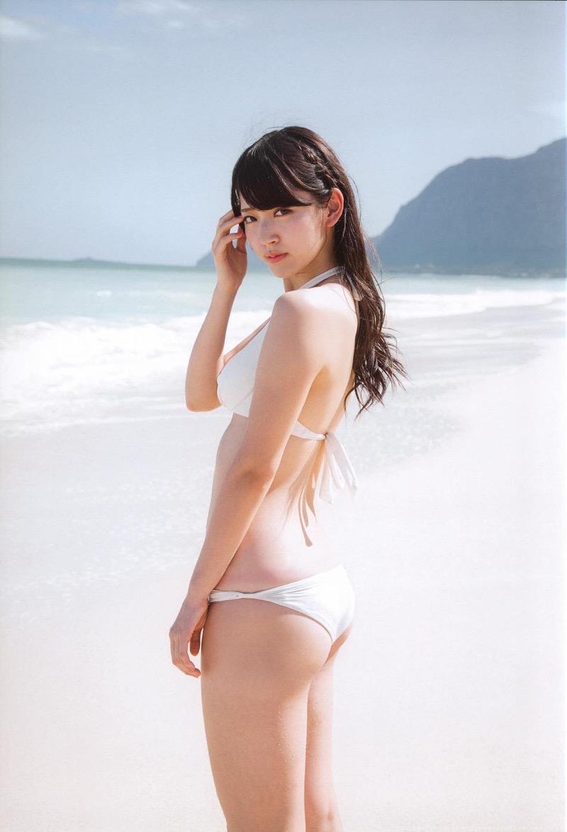 【鈴木愛理グラビア画像】小学生の時からアイドルやってる腰がめっちゃ細い女の子がエロい! 64